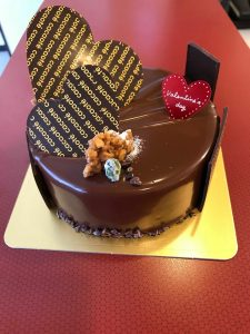 カカオテさんのチョコレートケーキが絶品